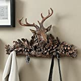Retro Deer Head Wall Hanging Clothes Rack Wall Hanging Hook Fashion Home Decoration Personality Wall Decoration