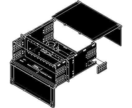 Fiber Patch Panel, Fixed, 4U, 12 Panels, Up to 288 Ports