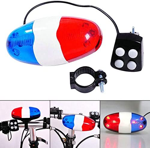 Debuy - Luz Trasera para Bicicleta, 6 Luces LED Intermitentes, 4 ...