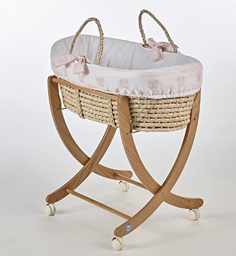 Pali Designs Isabella Moses Basket (Isabella Baby Furniture)