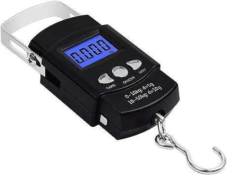 P/èse bagage /électronique num/érique 50 kg 10 g pour la p/êche et le voyage