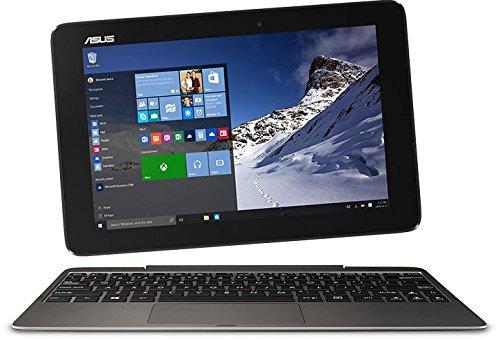 ASUS Transformer T100HA-FU003T glare Atom x5-Z8500 25,6cm 10,1Zoll 2048MB 128GB eMMC Intel HD Grafik Win 10 Home Touchscreen) schwarz