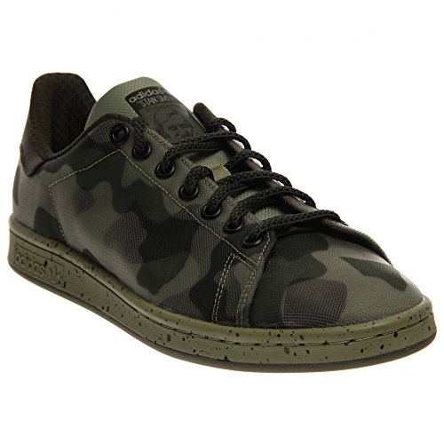 Stan Smith Mens in Green/Black by Adidas, 10.5