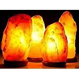 Lampada di sale Salgemma dell'Himalaya 8-10 kg