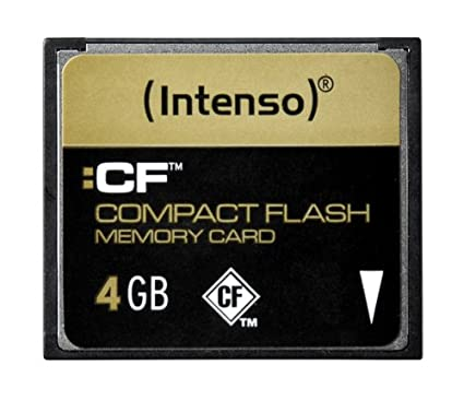 Intenso - Tarjeta de memoria flash compacta (4 GB): Amazon ...