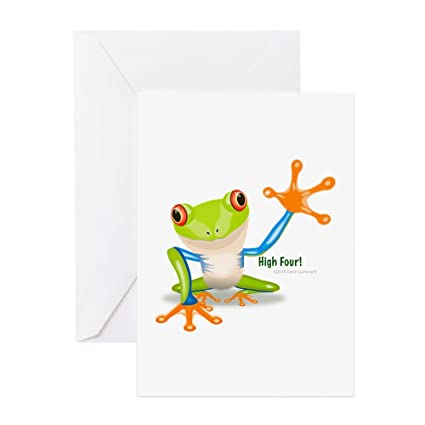 Amazon cafepress freddie frog greeting cards greeting card cafepress freddie frog greeting cards greeting card 10 pack note m4hsunfo