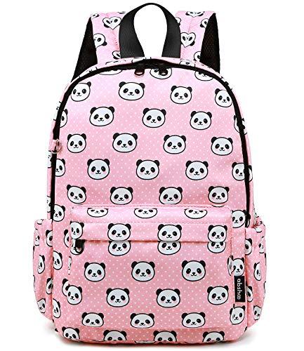Abshoo Little Kids Panda Toddler Backpacks for Girls Preschool Backpack With Chest Strap (Panda Pink) (Strap One Cute Backpack)