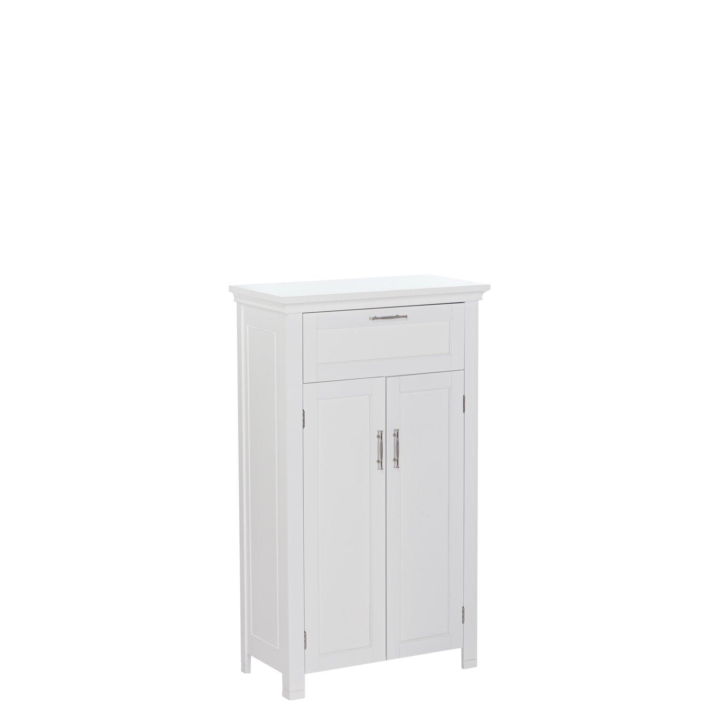 Amazon.com: RiverRidge Home Somerset 2-Door Floor Cabinet, White ...