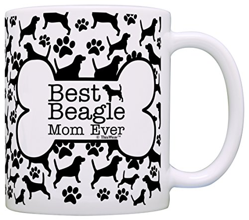 Owner Gifts Beagle Pattern Coffee