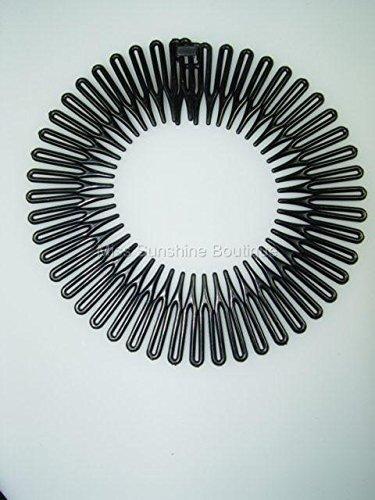 Top Brand Zick-Zack-Haarreif, 2Stück, flexibel, erhältlich in 3 unterschiedlichen Farbvariationen
