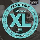 D'Addario Guitar Strings Pedal Steel Pro Steels EPS500 C6th