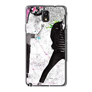 Anti-Scratch Hard Cell-phone Case For Samsung Galaxy Note3 (MAb6696BmLu) Custom Attractive Green Day Skin