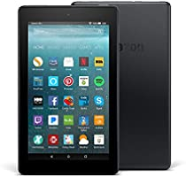 """All-New Fire 7 Tablet with Alexa, 7"""" Display, 8 GB, Black - with Special Offers"""