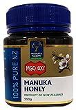 Manuka Health - MGO 400+ Manuka Honey, 100% Pure New Zealand Honey, 8.8 oz (250 g)