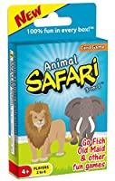 Animal Safari 3-in-1: GO FISH Old Maid Memory [HOT NEW RELEASE]