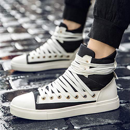 Les Jeunes Lacets Personnes Pour Toile men Jaune neuf Kmjbs Haute De Chaussures Trente 4Ux1A