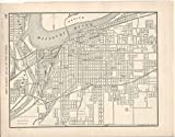 "MAP: ""Kansas City""...from New Family Atlas of the World"