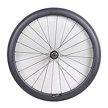 Winicebikes 25mm Width Clincher Rim Carbon Rear Wheel for Road Bike Powerway Hub R13