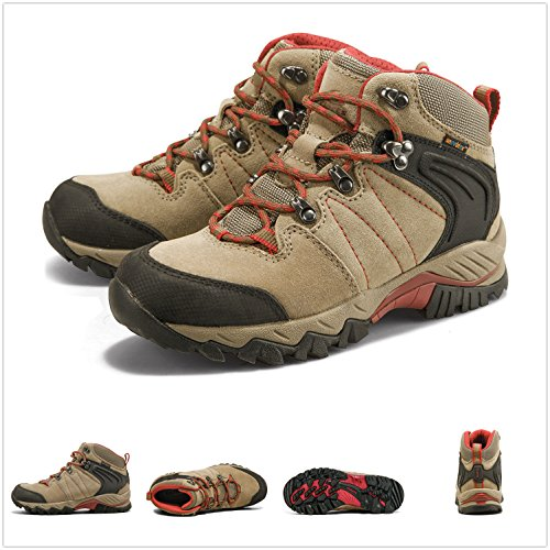Scamosciata Hkm822 Scarponcino In Unebtex Mid Da Marrone Shoe Clorts Backpacking Trekking Outdoor Pelle Donna 6xqwB8U8