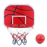 Mini Kids Basketball Hoop Set - Durable Portable Sports Toy with Air Pump Fun Indoor Outdoor Game for Children