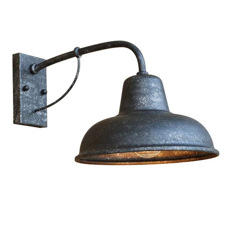 LXY Industrie Retro Eisen RundeTopfdeckel Wandleuchte kreativer Einzelkopf Wandlampe r Schlafzimmer Schlafzimmer Küche Beleuchtung,Lampenfassung E27  1
