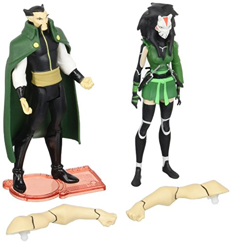 DC Universe Young Justice Ras Al Ghul And Cheshire Figure -