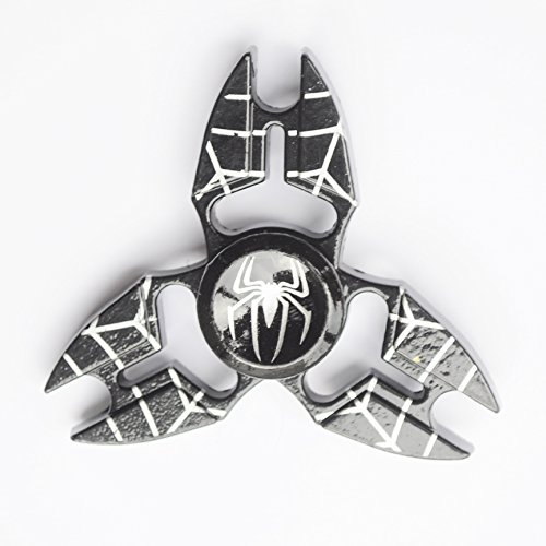 Star Wars Fidget Spinners  Unique Antique Fidget Spinners   Upgraded High Speed Fidget Metal Aluminum Alloy Spinner Toy   Stress Reducer Relieves Adhd  Edc Focus Toy   Black Spider