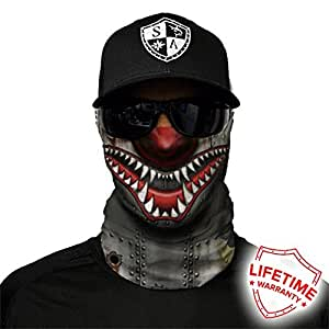 Salt armour usa tiger shark face shield wind for Sa fishing face shield review