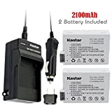 Kastar LPE8 Battery (2-Pack) and Charger Kit for Canon LP-E8, LC-E8E, Canon EOS 550D, EOS 600D, EOS 700D, EOS Rebel T2i, EOS Rebel T3i, EOS Rebel T4i, EOS Rebel T5i Cameras and BG-E8 Grip