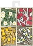 Mini Garden Clothespins-72 Pieces
