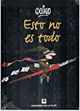 Esto no es todo / This is Not Everything (Spanish Edition)