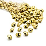 Acrylic Diamonds Gems Crystal Rocks for Vase Fillers, Party Table Scatter, Wedding, Photography, Party Decoration, Crafts by Royal Imports (3 LB Bag, Gold)