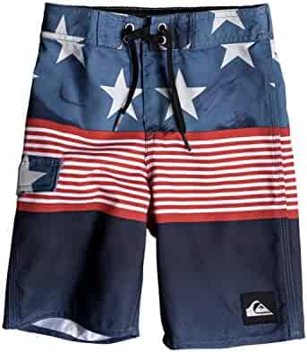 Quiksilver Little Boys' Division Independent Youth Boardshort Swim Trunk