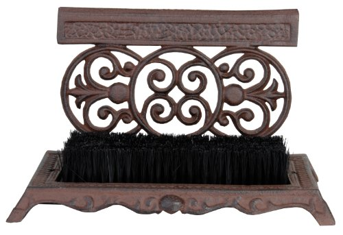 cast iron boot brush - 1