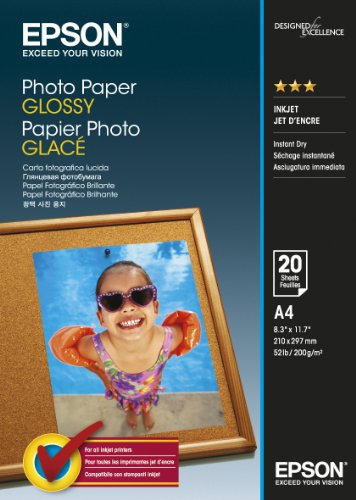 Epson Photo Paper Glossy A4 20 she