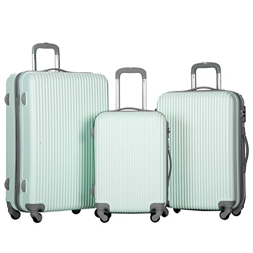 merax-newest-3-piece-luggage-suitcase-spinner-set-abs-material-light-blue