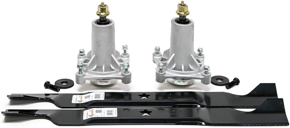 "Husqvarna 46/"" YTH21K46 YTH22V46 Mower Deck Parts Rebuild Kit FREE Shipping"