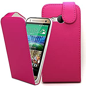 Accessory Master 5055907814064 - Funda para HTC One M8 Mini 2, Rosa