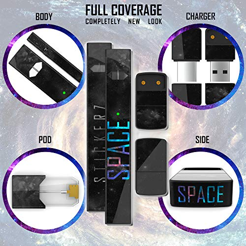JUUL Skin - JUUL Wrap - JUUL Decal - JUUL Cover - JUUL Starter Kit Stickers  - Pax JUUL Skin for Device Charger Pods - Original JUUL Vape Pen