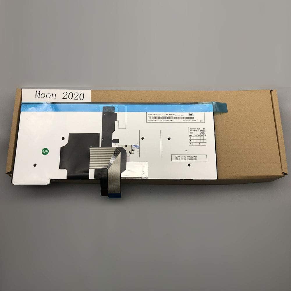 Genuine Original US Layout Backlit Laptop Keyboard for Lenovo ThinkPad T431 T431s T440 T440E T440p T440s T450 L440 E431 E440 Compatible with PK130SB2B00 SN5320BL 4X0139 C43944 45X15S PK130SB2B00