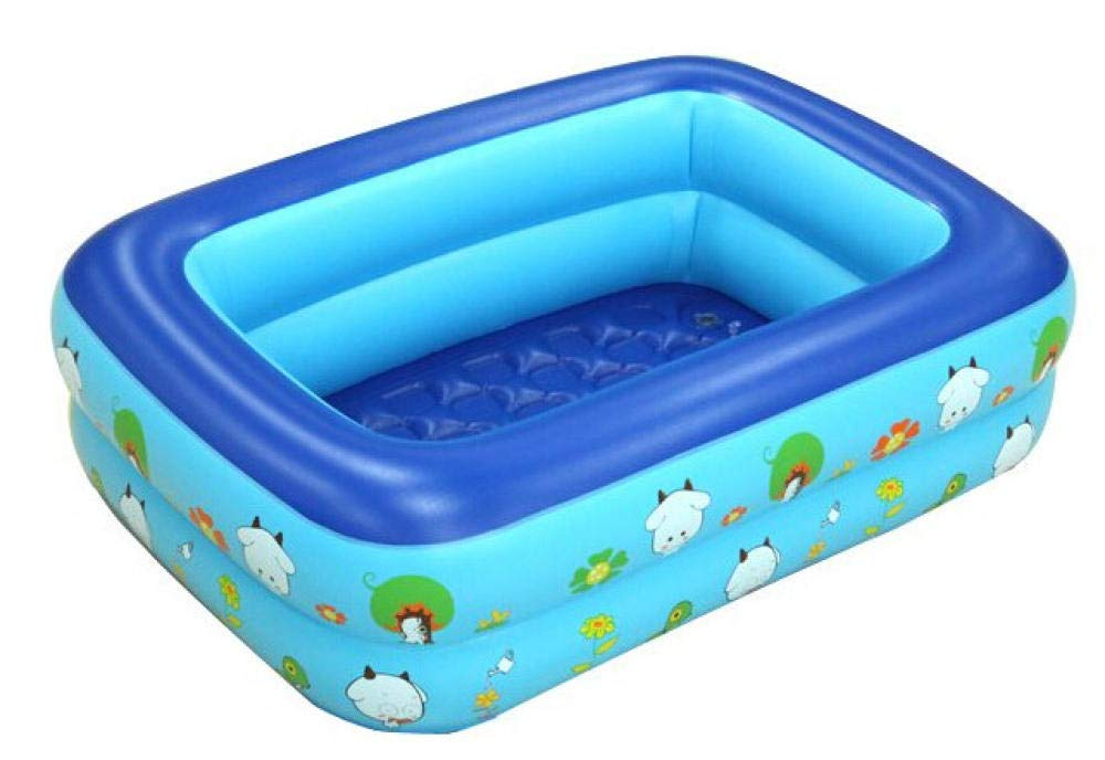 NiñoS de la Familia Rectangular NiñoS Piscina Inflable Baby Shower ...