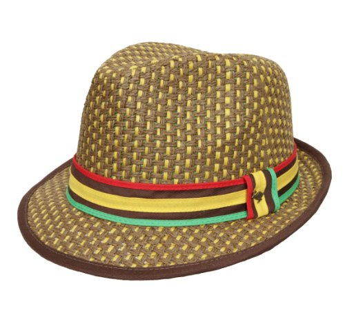Peter Grimm Headwear Men's JAH Love Trilby Hat by Peter Grimm (Image #4)