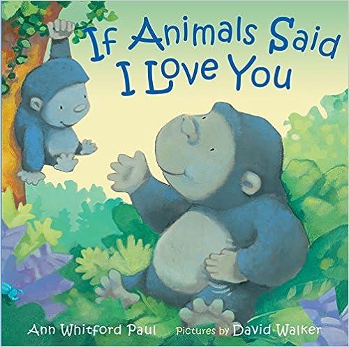 If animals said I love you vegan children books