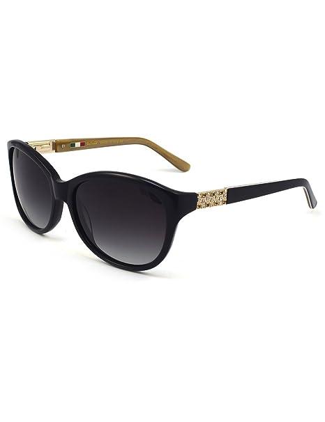 011cf13761f Women s Acetate Classic 100% UV Polarized Sunglasses with Rhinestones
