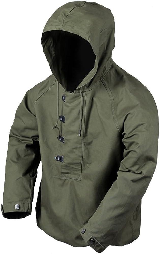 Navy Hooded Parka