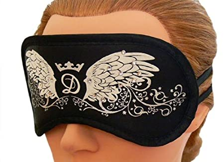 Daydream de dormir con diseño de máscara de antifaz para dormir de sueño de gafas de sol para los ojos de la máscara de los ojos con cristales de swarovski ...