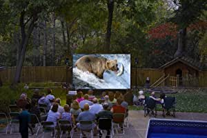 Backyard Theater Systems16-Foot Outdoor Movie System w/ Optoma 1080p supported Projector+WiFi