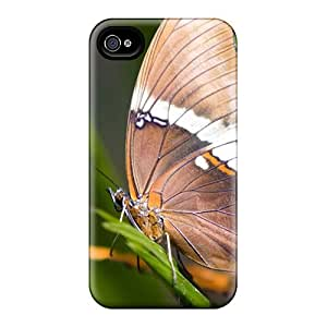 Anti-Scratch Hard Phone Cover For Iphone 6plus With Custom High Resolution Butterfly Pattern EricHowe