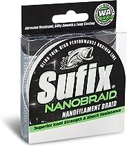 Sufix NanoBraid 2 lb Low-Vis 690-002G: NanoBraid 2 lb Low-Vis Green