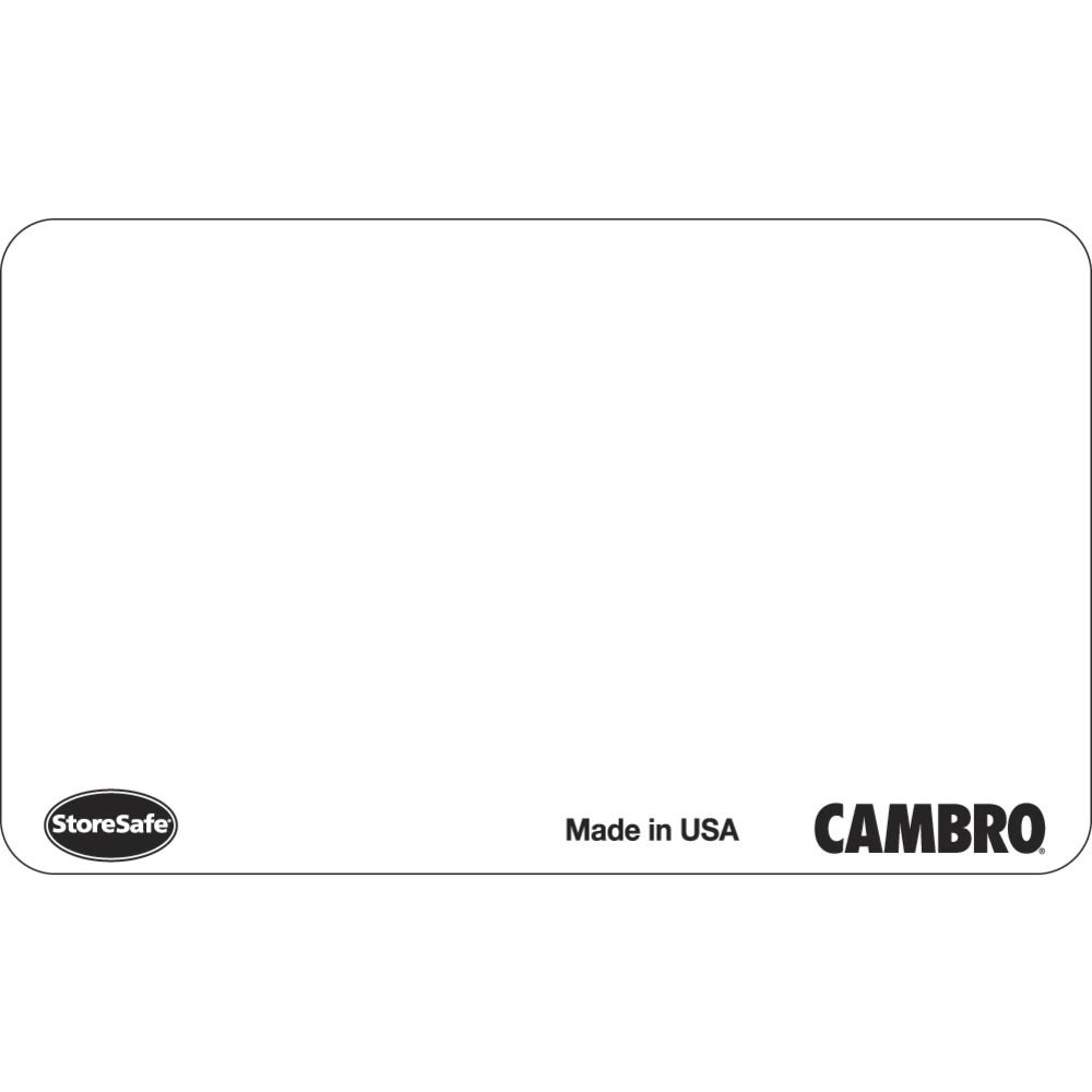 Cambro SLL30 Storesafe 1'' x 2-1/2'' Food Rotation Labels - 100 / CS